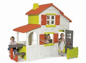 Cabane Enfant Plastique : grande maison smoby ~ Preciouscoupons.com Idées de Décoration