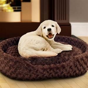 Cuddle, Round, Plush, Pet, Bed, -, Extra, Large
