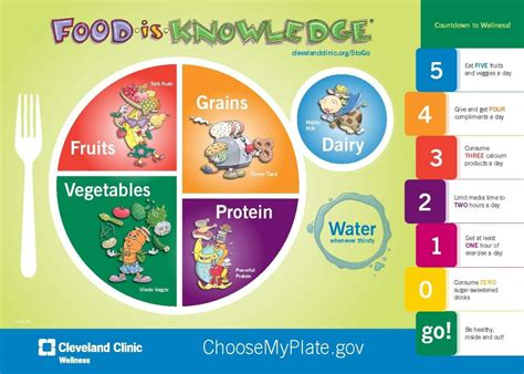 Diagram Of Healthy Plate by Educate To Lower The Rate Food Fitness And