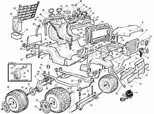 Power Wheels Jeep Wrangler Parts