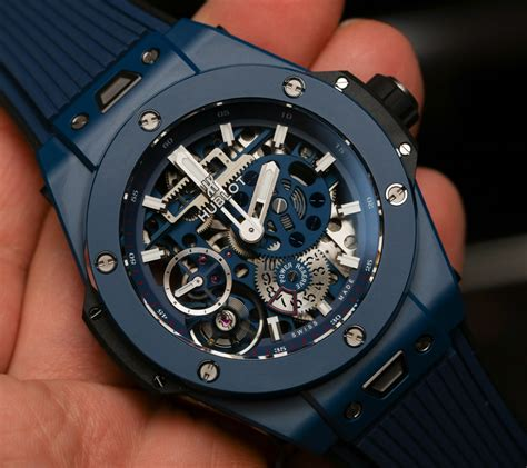 uhr hublot neue uhr hublot big meca 10 blue ceramic uhrforum