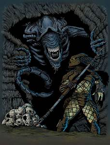 Alien vs Predator by patoberroeta on DeviantArt