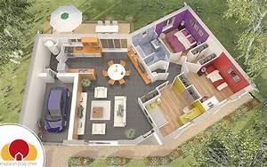 Plan Maison Pas Cher : quartz maison avec plan en v ~ Melissatoandfro.com Idées de Décoration