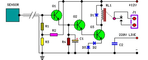 Capacitive Sensor Circuit Diagram