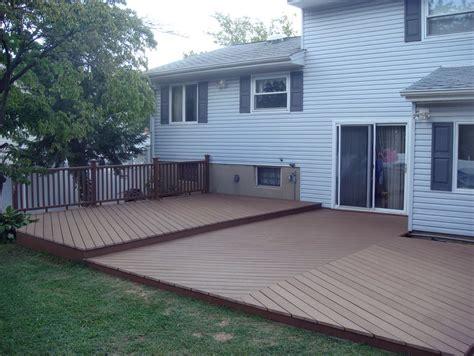 Backyard Deck Plans by Backyard Deck Ideas Ground Level Home Design Ideas