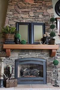 excellent rustic mantel decoration ideas 25+ best ideas about Rustic Mantle Decor on Pinterest | Mantle decorating, Fireplace mantel ...
