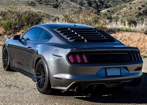 S550 Mustang Louvers Explained Americanmuscle
