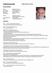 best photos of curriculum vitae in english With cv in english