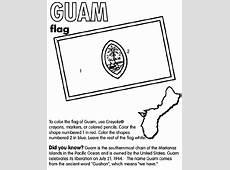 Guam Coloring Page crayolacom