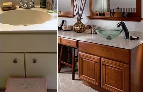granite transformations bathroom before after before
