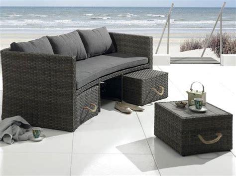 canapé de jardin pas cher canape resine tressee exterieur 7 50 meubles de jardin