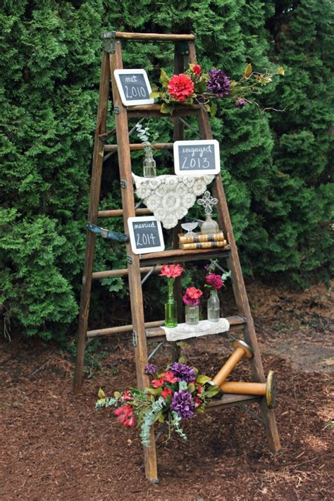 milestone ladder boise wedding vintage rentals