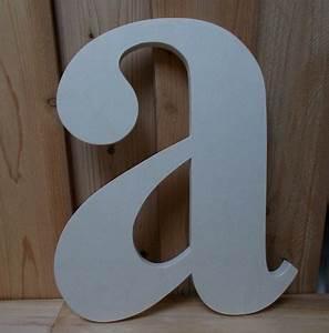 Lettre Decorative A Poser : initiale en bois lettre d corative en bois grande ~ Dailycaller-alerts.com Idées de Décoration