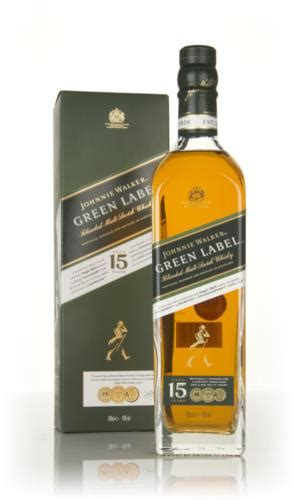 johnny walker colors and price johnnie walker green label 15 year whisky master of malt