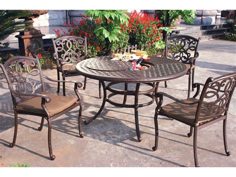Darlee Patio Furniture Quality by Darlee Outdoor Living Santa Cast Aluminum Antique