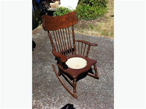 antique rocking chair west shore langford colwood