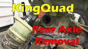 How To Remove Rear Axle