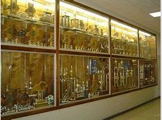 high school trophy case Google Search G adi Glass