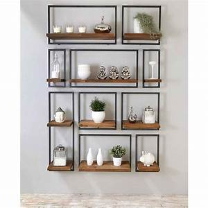 etagere palette bois fashion designs With delightful peindre des poutres en bois 8 terradecor