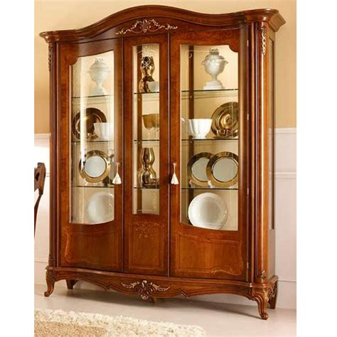 indonesia kaca country display cabinet