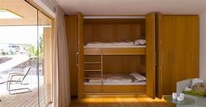 Bett Im Schrank Integriert : die besten 25 verstecktes bett ideen auf pinterest ein bett verstecken klappbett und schlafsofa ~ Frokenaadalensverden.com Haus und Dekorationen
