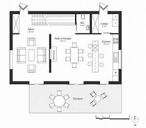 plan maison avec balcon et terrasse ooreka With plan d une maison en 3d 7 plan maison avec balcon et terrasse ooreka