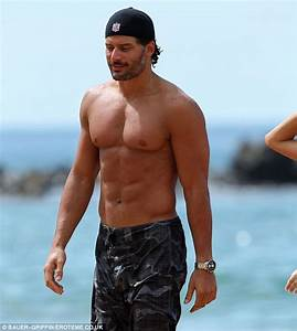 True Blood actor Joe Manganiello holds hands with his new ...