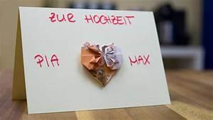 Idee Geldgeschenk Hochzeit : hochzeit geldgeschenk idee gl ckwunschkarte basteln ~ Eleganceandgraceweddings.com Haus und Dekorationen