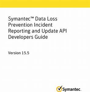 Symantec U2122 Data Loss Prevention Incident Reporting And