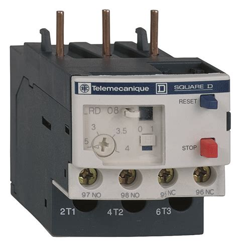 schneider electric square d lrd14 overload relay for use with lc1d09 thru lc1d32 7 to 10