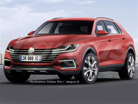 volkswagen coupe 2019 vw tiguan coupe r release date future cars pictures