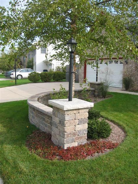 pillars stone pillars address markers driveway patio
