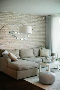 30, Cool, Brick, Walls, Ideas, For, Living, Room