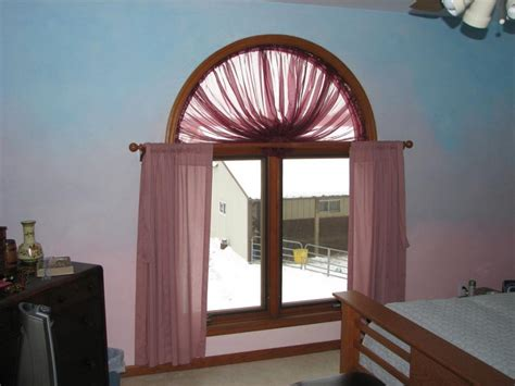 Arched Curtain Rod For Windows
