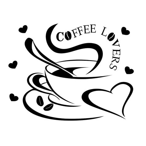 You will instantly receive a zipped file containing 8 files in the following different file formats: Coffee Lovers Graphics SVG Dxf EPS Png Cdr Ai Pdf Vector Art Clipart instant download Digital ...