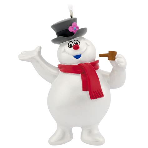 hallmark hallmark frosty the snowman christmas ornament seasonal christmas tree ornamentation