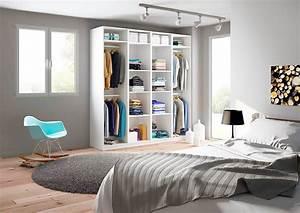 Armoire Dressing Blanche : armoire de rangement penderie sur mesure ~ Premium-room.com Idées de Décoration