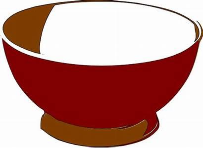 Bowl Clipart Clip Cliparts Empty Dish Dog