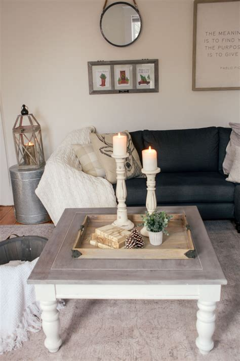 Coffee tables have a prominent place and function in a living room. DIY Farmhouse Coffee Table: Facebook Marketplace Finds ...