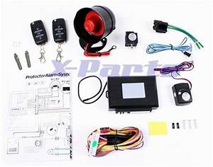 Car Alarm Universal Remote Control Zv Vibration Sensor