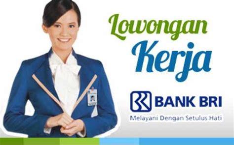 lowongan kerja ngawi bank bri bca btn danamon