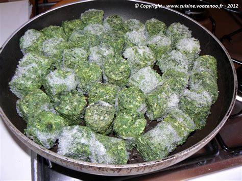 cuisiner des epinards frais comment cuisiner epinards surgeles