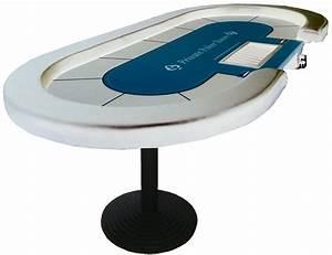 Table De Poker Ovale Personnalis Croupier