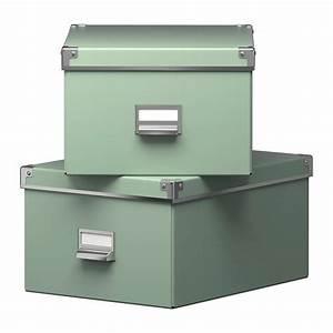 Ikea Cd Box : ikea kassett 2er schachtel gr n archivschachtel dokumentbox regalbox cd box ebay ~ Frokenaadalensverden.com Haus und Dekorationen