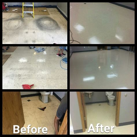 do you strip and wax floors brokate janitorial services