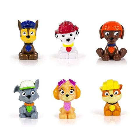 figurine pat patrouille mini figurine pat patrouille spin master king jouet figurines et cartes 224 collectionner spin