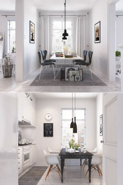 Bright Scandinavian Decor In 3 Small One Bedroom Apartments by Home Designing
