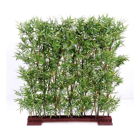 haie de bambou en pot haie artificielle bambou dense 110 et 150 cm haies et murs vegetaux artificiels