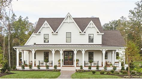 small farmhouse plans wrap around porch southern southern living house plans