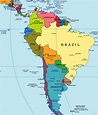 South America : Countries – Capitals – Currencies ...